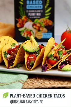 Vegetarian Recipes Videos, Vegan Dinner Recipes, Veggie Recipes, Mexican Food Recipes, Whole Food Recipes, Cooking Recipes, Healthy Recipes, Quiche Recipes, Drink Recipes