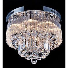 "Maria Theresa Swarovski Crystal Trimmed Chandelier Lighting Chandeliers H30"" X W28"""
