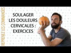 Soulager les douleurs cervicales : les exercices kiné à la maison - YouTube