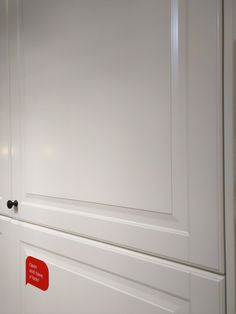 Ikea - Detailed cupboard face with black small handle