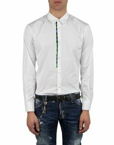 Men's Long sleeve shirt DSQUARED2 - Official Online Store @@Melissa Nation@@