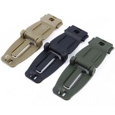 5pcs  Connecting Buckle EDC Strap Backpack Bag Webbing Connecting Buckle Clip Bag Tools Parts Accessories MF042