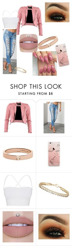 """""""Blushing"""" by ciaras62 on Polyvore featuring FRACOMINA, Michael Kors, Theory and Dorothy Perkins"""