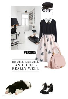 """""""A dose of rose"""" by pensivepeacock ❤ liked on Polyvore featuring Levi's, Prada, Burberry and Miu Miu"""