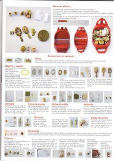 Mimin Dolls: acessórios para casinha de bonecas