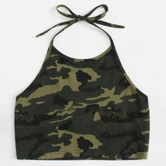 feitong crop tops women 2018 short tank top women halter neck top cropped for women bandage backless cropped feminino Camo Tank Tops, Crop Tops, Top Streetwear, Hip Hop Outfits, Party Tops, Halter Neck, Latest Fashion Trends, Fashion Brand, Retro