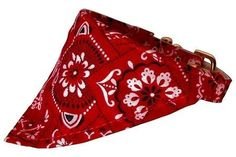 Mirage Pet Products Western Bandana Collar for Dogs 20Inch Red -- Learn more by visiting the image link.(This is an Amazon affiliate link)
