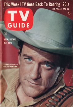 "James Arness of ""Gunsmoke""  May 11-17 1957"
