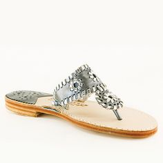 Take a look at this Palm Beach Sandals Gunmetal & Silver Classic Leather Sandal today! Palm Beach Sandals, How To Look Pretty, Leather Sandals, Stiletto Heels, Take That, Jewels, Pure Products, My Style, Silver
