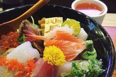 #海洋丼飯