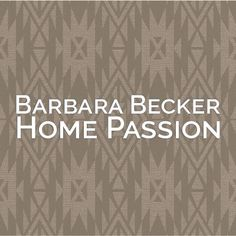 Muestrario Barbara Becker Home Passion | Nacional de Tapiz