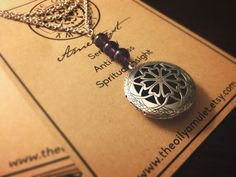 The Oily Amulet Original  Amethyst  Essential Oil by TheOilyAmulet