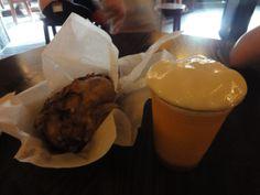 Pork Shank and LeFou's Brew at Gaston's Tavern
