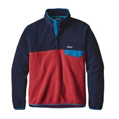 A lighter version of our classic Snap-T® Pullover, the Lightweight Synchilla® Snap-T Pullover is made of warm and durable midweight polyester…