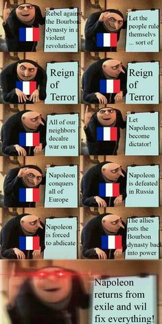 Oh France : HistoryMemes - History Memes - - Oh France : HistoryMemes The post Oh France : HistoryMemes appeared first on Gag Dad. Really Funny Memes, Stupid Memes, Haha Funny, Dankest Memes, Funny Jokes, Hilarious, Funny Stuff, Disney Memes, Funny Images