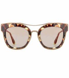 Cat-eye sunglasses | Bottega Veneta