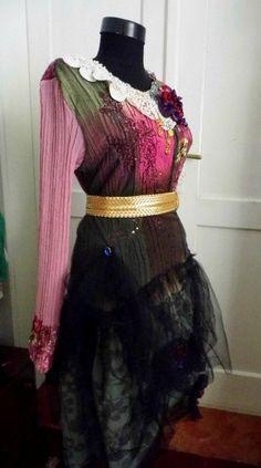 Etsy listing at https://www.etsy.com/listing/206363589/dress-gypsy-dressgypsy-bohemian-upcycled