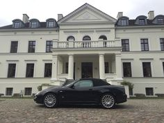 Palac Rulewo & Maserati :)