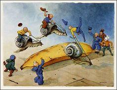 S for Snail: William Donahey: 'The Teenie Weenies'