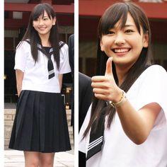 ARAGAKI_yui 新垣結衣 JK 制服 セーラー