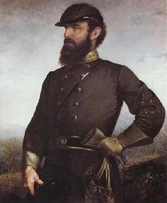 The great Stonewall Jackson. A man of faith and military genius.  The Confederacy, America Civil War.  Stonewall Jackson being a Presbyterian had an unshakeable belief in God's Sovereignty which gave him a fearlessness in battle.
