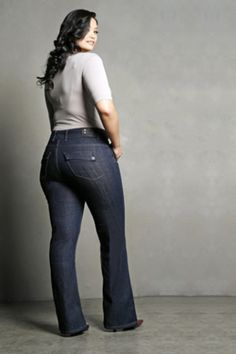 Plus size jeans ... Sexy.