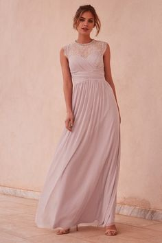 Buy Lipsy Elsa Lace Sleeve Mesh Maxi Dress from the Next UK online shop Prom Dresses Long Open Back, Prom Dresses For Teens, Short Dresses, Elsa, Purple Maxi, Skinny, Lovely Dresses, Lace Sleeves, Lace Dress