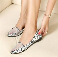 New Arrival Comfortable Flat Women Shoes