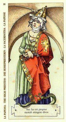 Belle Constantinne - The High Priestess -Albrecht Dürer Tarot