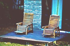 Relaxing Chairs by Fade2Black Fotografy on 500px