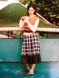市川実日子 Ichikawa Mikako CUTIE magazine 2000 by HIROMIX