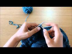 Curso de tricot - Querido tricot: tricotar 2 malhas juntas (k2tog)