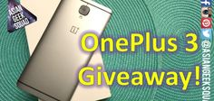 Check our our latest #giveaway - the #OnePlus3!