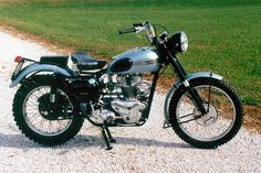 James Dean's 1955 Triumph Trophy -- if I ever get a motorcycle, I'd like to own one of these.