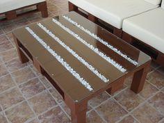 DIY Paso a paso de muebles de porche con pales Pallet Projects, Woodworking Plans, Sweet Home, Diy Crafts, Table, Furniture, Pallets, Home Decor, Chill