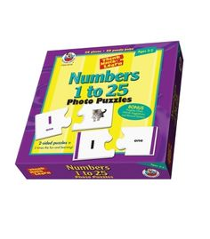 Numbers 1 to 25 Floor Puzzle - Carson Dellosa Publishing Education Supplies