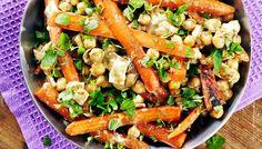 Vuohenjuustoiset porkkanat - K-ruoka