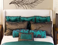 [cropped]  two-peacock-feathers-1009...actually cropped the product because I don't like the decals, but I love the bedding and throw pillows!