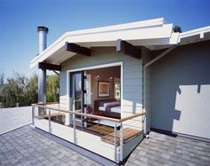 Beverly Place - Master Bedroom Addition - contemporary - exterior - san francisco - Studio Sarah Willmer