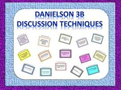 This Omega English product helps students engage in classroom and group discussion and assists teachers in reaching a high rating in the Danielson 3B component (Discussion and Questioning).   Please note that this package particularly focuses on guiding students to asking probing or clarifying questions during discussions (there are other aspects of Danielson 3B Domain available in my store).