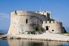 Photo about Ancient venetian castle bourtzi in nafplio greece. Image of harbor, greece, travel - 1945672 Places To Travel, Places To Visit, Greek Beauty, National Landmarks, Greece Travel, Greek Islands, Back Home, Vacation Spots, Trip Planning