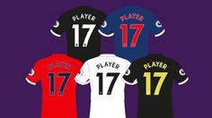 Neue Rückennummern für die Trikots der Fußballer aus der Premier League. Die komplette Story gibt es hier!