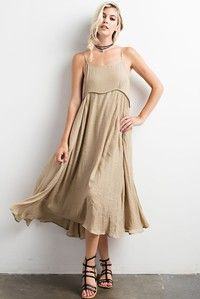 Long Flowy Dress ******MORE COLORS COMING SOON!******