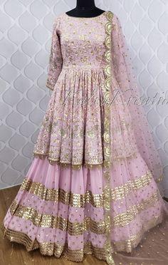 Pakistani Fashion Party Wear, Indian Party Wear, Pakistani Dress Design, Pakistani Dresses, Indian Dresses, Wedding Lehenga Designs, Sharara Designs, Kurti Designs Party Wear, Latest Bridal Dresses