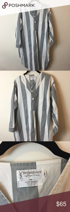 Vintage Men's Nightgown Vintage Men's Nightgown looks like it would be for a large man Yves Saint Laurent Dresses