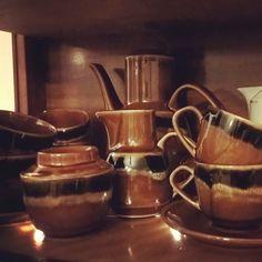 Sadulski serwis kawowy novi #garniturkawowy#serwiskwowy#mirostowice#Sadulski#prl#vintage#midcenturydesign