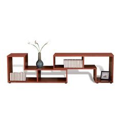 jesper office Expando Bookcase Cherry, $325, now featured on Fab.