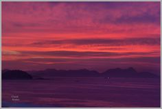 Sunrise over Rio de Janeiro, Brazil