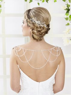 ARN099 | Titania Handmade Bridal Shoulder Necklace