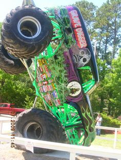 Grave Digger..one of the sights on the path to Myrtle Beach